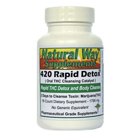 Rapid Detox At Home by 1000 Ideas About Thc Detox On Test