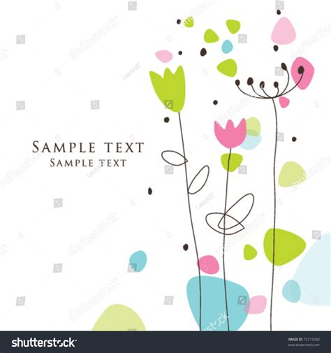 birthday card templates simple greeting card template simple artistic stock