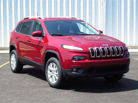 red jeep 2016 2016 jeep cherokee sport 2 4l suv red color autocar pictures