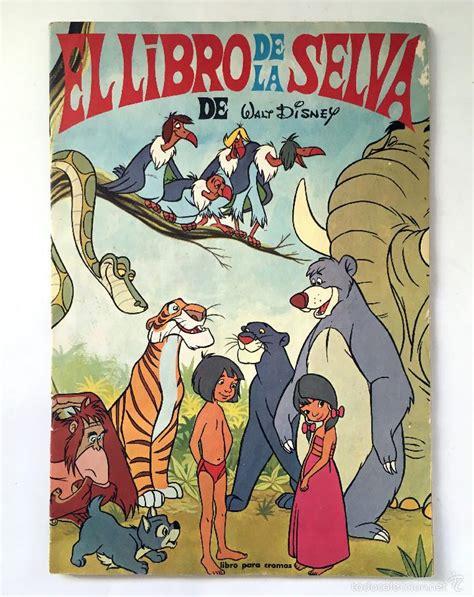 libro walt disneys the jungle el libro de la selva completo album walt disn comprar 193 lbumes antiguos completos en