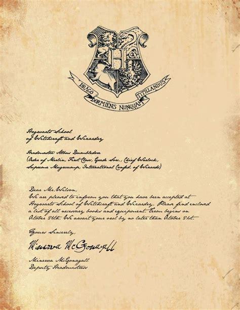 Offer Letter Generator Hogwarts Acceptance Letter Generator Sle Letter Template