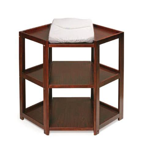Badger Basket Corner Changing Table Badger Basket Corner Changing Table Cherry Baby Shop