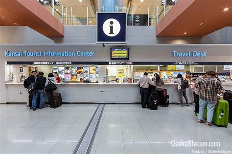 Traveler Help Desk Traveling Between Osaka And Kansai International Airport
