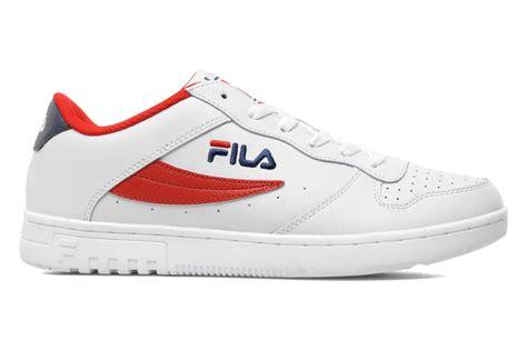 Fila Fx 100 Low Trainers fila fx 100 low trainers in white at sarenza co uk 185740
