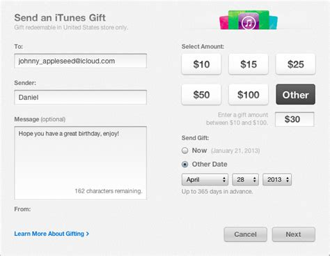 Buying Itunes Gift Card For Another Country - how to send an itunes gift card to a friend imobie help
