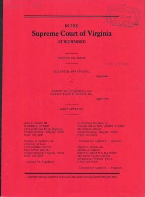 Virginia General District Court Records Virginia Supreme Court Records Volume 236 Virginia Supreme Court Records