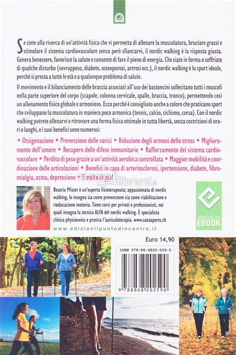 libro north the new nordic nordic walking per tutti beatrix pfister
