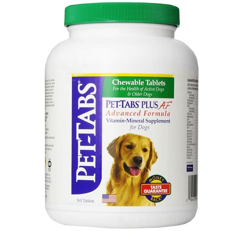 puppy plus pet tabs plus for dogs 365 count entirelypets