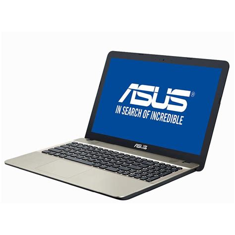 Asus Vivobook Max X541ua Vga Intel Hd laptop asus vivobook max x541ua go1376 15 6 hd led backlit glare intel i3 7100u ram 4gb