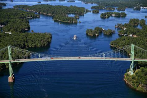 thousand island boat cruise there s more to ontario s thousand islands than salad