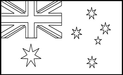 Flag Of Australia Coloring Page coloring pages australia flags flag bebo pandco