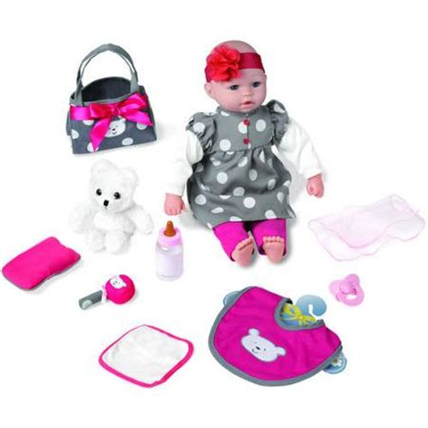Baby Doll 1 Set my sweet 18 quot baby doll gift set with walmart