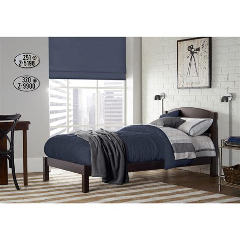 sears home decor dorel braylon espresso twin bed