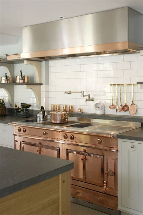 rose gold kitchen appliances decorating with warm metallics copper bronze gold