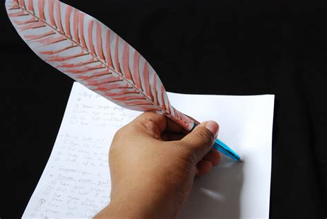 Make A News Paper - how to create a paper quill 8 steps with pictures wikihow