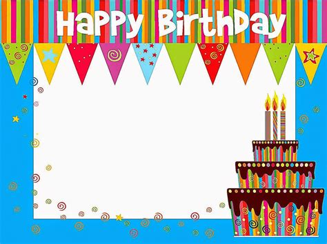 happy birthday template card 100 birthday cards happy free printable ideas