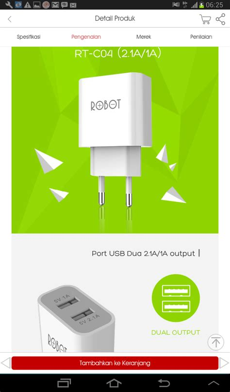 Adaptor Hp Hippo 21a 2 Usb Set robot adaptor charger 2 usb 2 1a 1a real supplier distributor grosir accessories ponsel