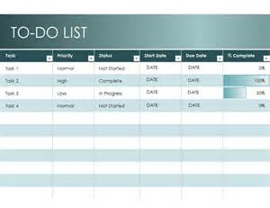 todo list template excel featured excel templates
