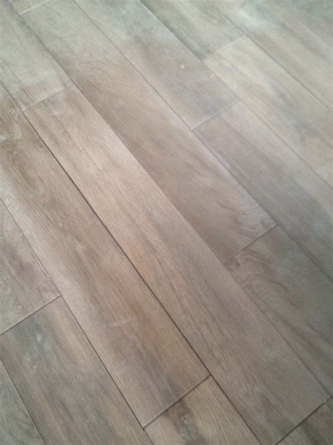 final grout color decision for wood look tile floor