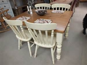 Painted Kitchen Tables Farmhouse Painted Dining Kitchen Tables Farrow Dorset Buy
