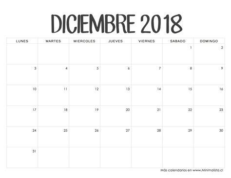 rastreador de palabras novedades diciembre 2017 calendarios 2018 para imprimir minimalista