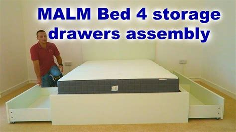 malm bed assembly 25 best ideas about ikea malm bed on pinterest ikea