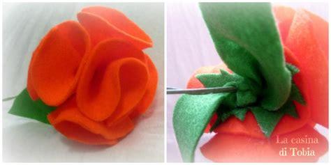 fiori in feltro fai da te la casina di tobia fiori in feltro fai da te tutorial