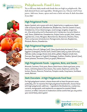 How To Detox Polythenols by Your High Polyphenol Foods Polyphenol Sources A
