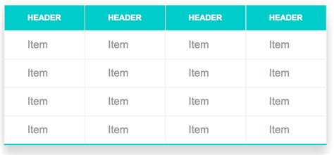 table layout exles css css snippets how to style a table