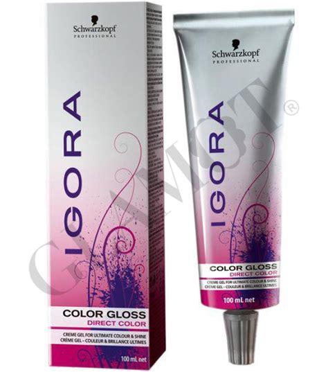 color gloss schwarzkopf igora color gloss glamot