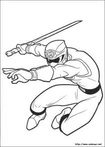 free coloring pages antonio power ranger