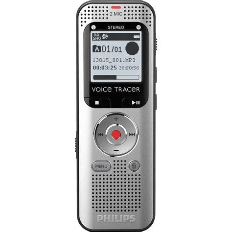 Audio Rekaman Philips Dvt 1150 4gb Free Microsd 16 Gb philips voice tracer 2000 stereo digital recorder dvt2000 00 b h