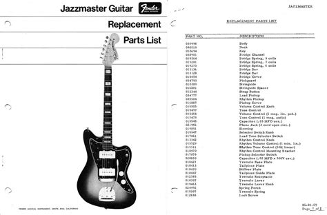 fender jazzmaster guitar templates electric herald