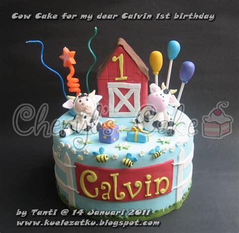 kue ulang  anak cupcake birthday cake  tier