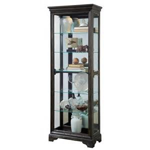 Curio Cabinets At Big Lots Pulaski 21431 29 W Curio In Brown Homeclick