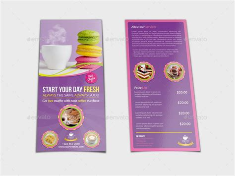cafe flyer template cafe flyer dl size template by owpictures graphicriver