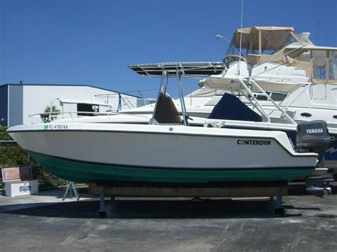contender boats for sale no motors contender 23 open great condition sold enjoy