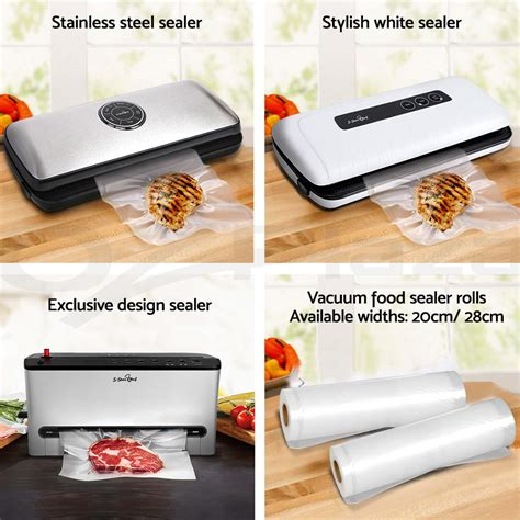 food heat ls commercial 300 vacuum food sealer bags roll saver storage seal heat