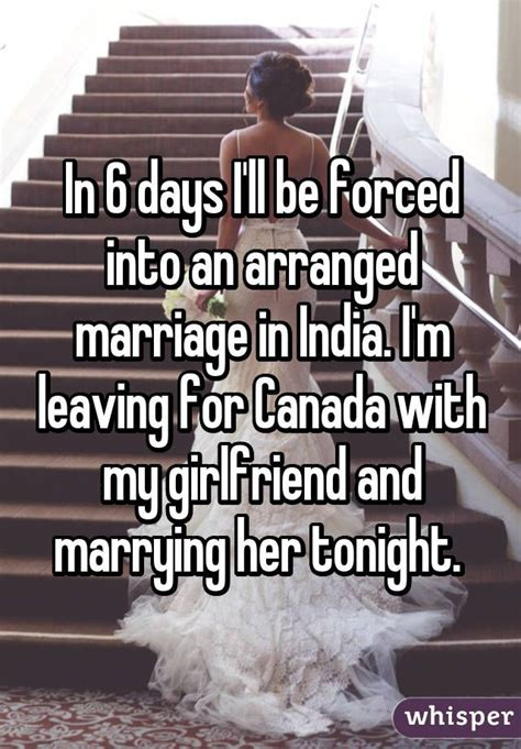 A Shocking Two Posts In One Day 2 by In 6 Days I Ll Be Forced Into An Arranged Marriage In