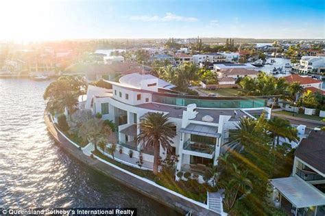gold coast house plated with gold daily mail online gold coast mansion is set to sell for 30m daily mail online