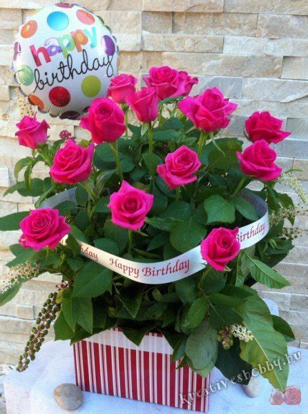 Happy Birthday Wishes With Roses Sz 252 Linapi Zs 250 R 246 Tletek 3 S 252 Tinyal 243 Ka S 252 T 233 S N 233 Lk 252 L