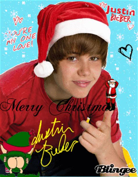 merry christmas justin bieber picture
