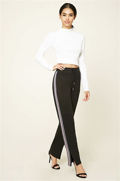 Stripe Trim Sweatpants 81 best s t y l i n g office attire images on