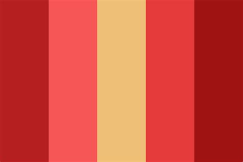 how is in color bacon color palette