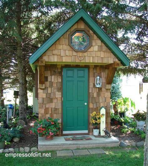 creative home garden shed designs empress  dirt