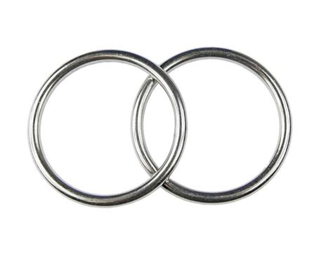 Edelstahl Ring by 2x Edelstahl Ringe D Ring 214 Se 4x40 Mm Rostfrei V4a