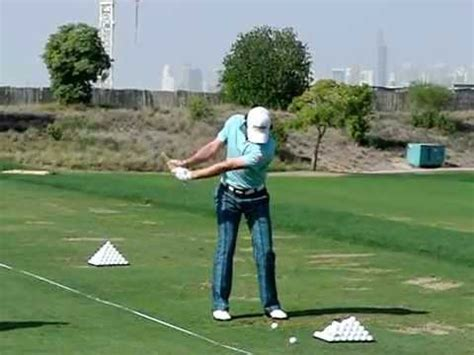 golf swing with irons rory mcilroy slow motion golf swing iron fo 2011