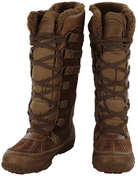 womans snow boots pajar aventure s faux shearling snow boots