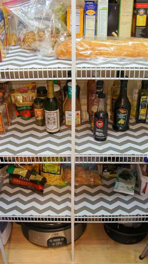 Pantry Shelf Liner Ideas by Food Fashion Home Diy Pantry Shelf Liners