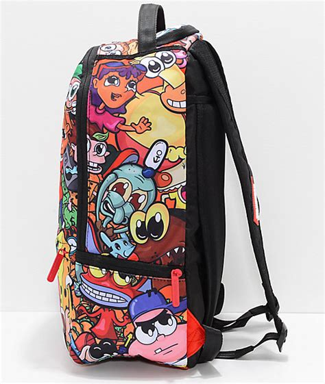 Anime 90 S Nickelodeon Backpack sprayground anime 90s nickelodeon backpack zumiez